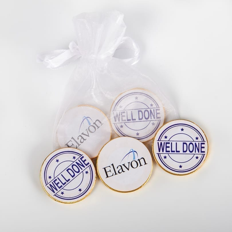 Branded Promotional Chocolate Coins | Personalised Corporate Treats - Personalised Chocolates
