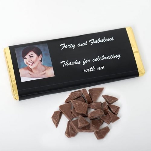 Personalised Chocolate Bar With Photo - Personalised Choclates