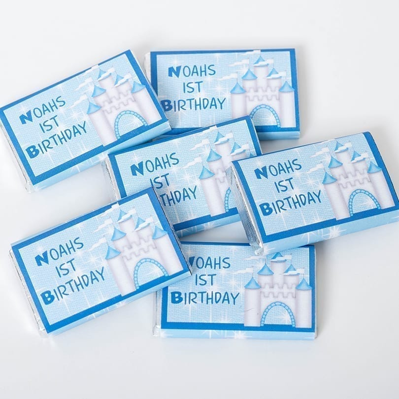 Personalised Birthday Milk Chocolate Bars - Personalised Chocolates