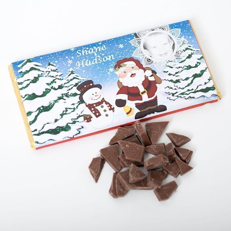 Santa Letter Bar - Personalised Chocolates