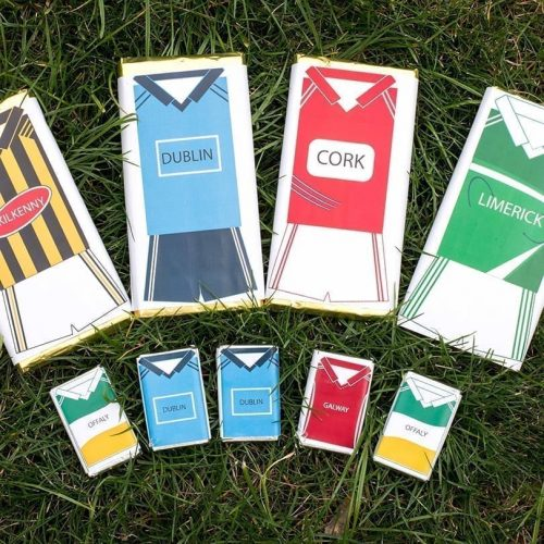 Sports Themed Bars - Personalised Choclates