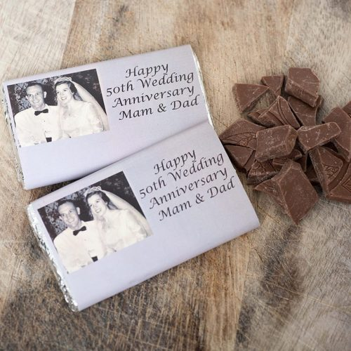 Vintage Birthday Bars - Personalised Chocolates