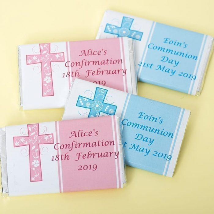 20g Personalised Communion and Confirmation Bar - Personalised Chocolates