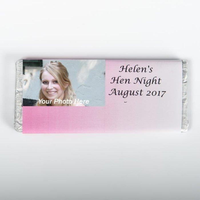 Photo Chocolate Bar Wrapper - Personalised Chocolates