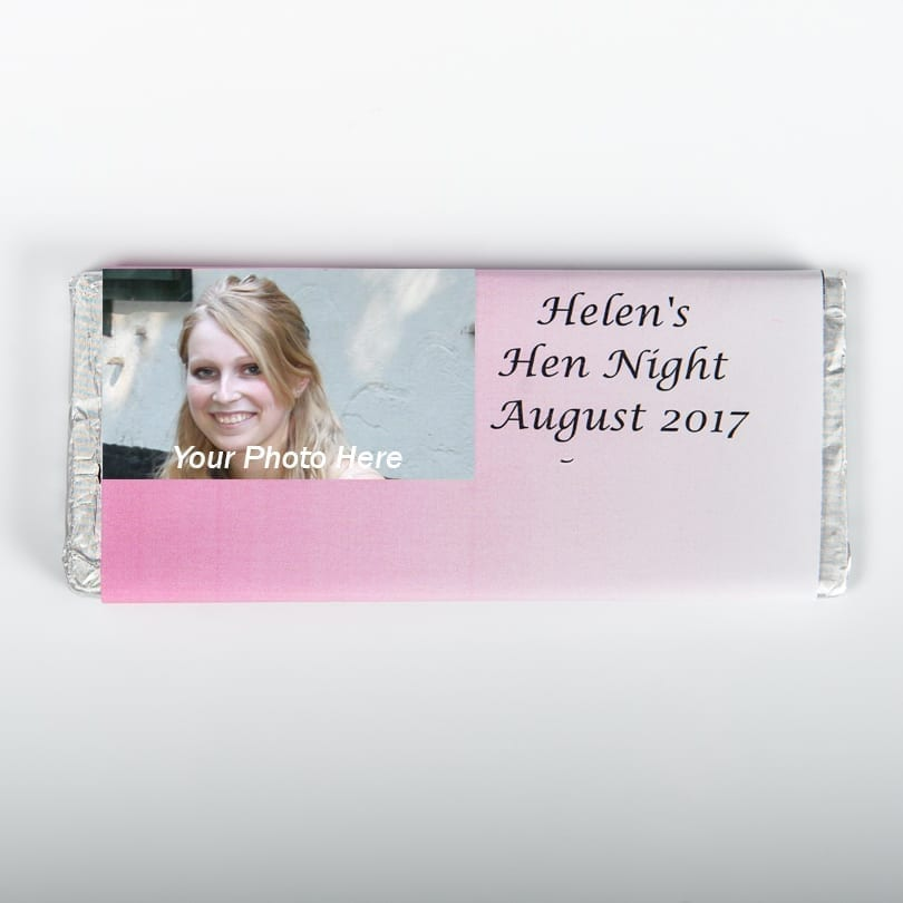 Photo Chocolate Bar Wrapper - Personalised Chocolates