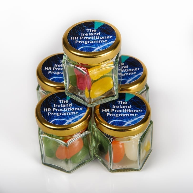 Personalised corporate treats   Personalised Sweet Jars