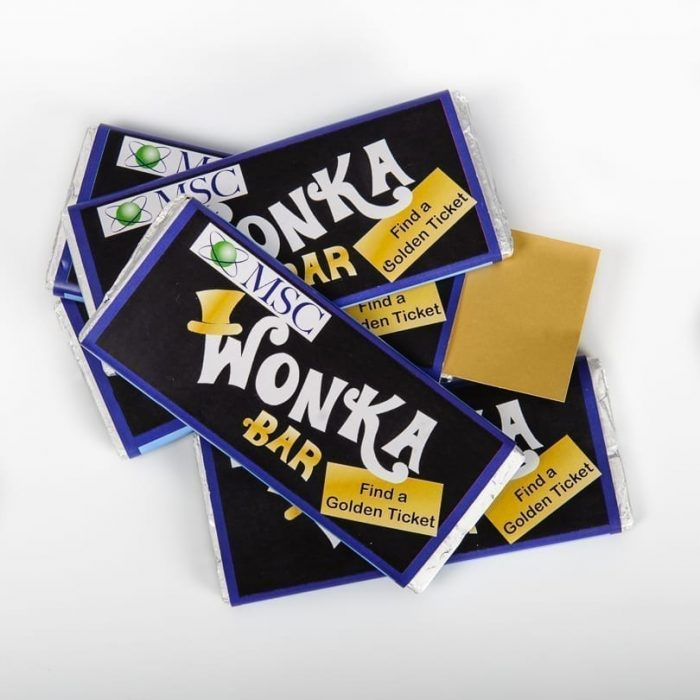 Corporate Personalised Chocolate Bars - Maria's Little Wrappers