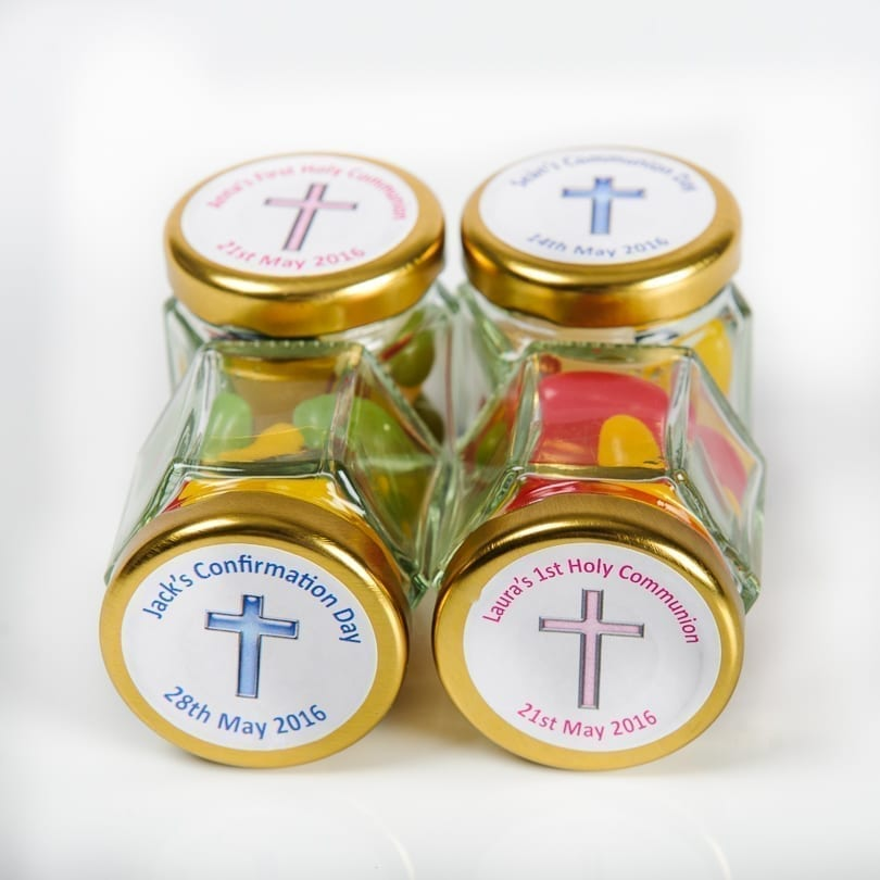 Religious Occasion - Mini Glass Jars