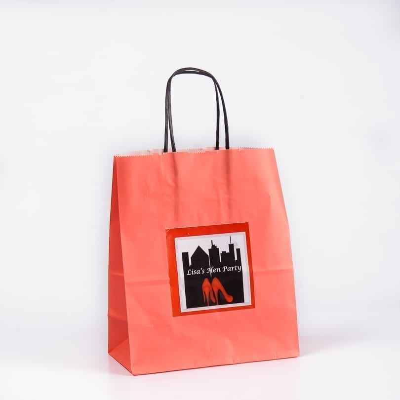 Shoe Design Personalised Gift Bag