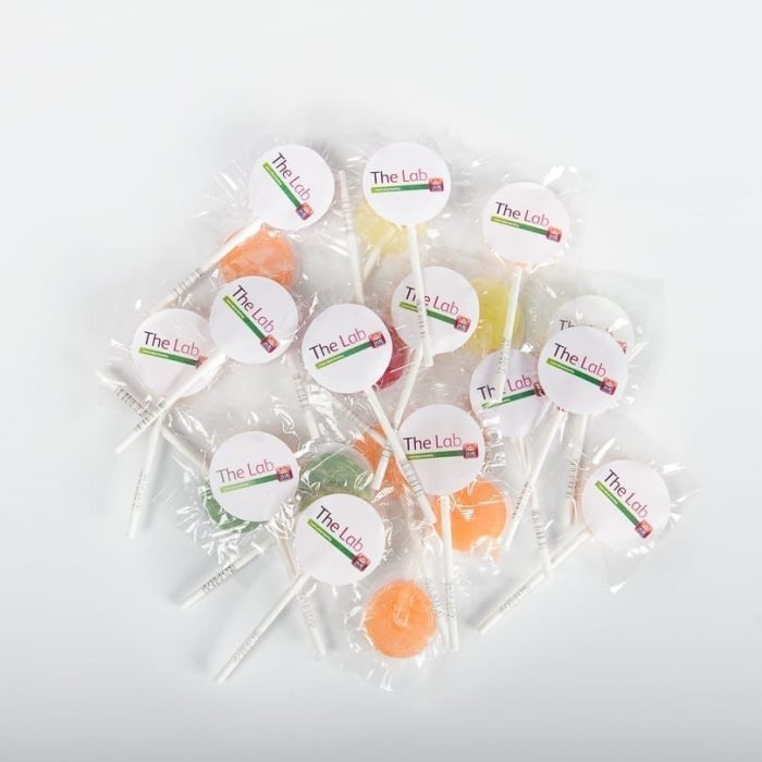 Branded Promotional Lollipops - Maria's Little Wrappers