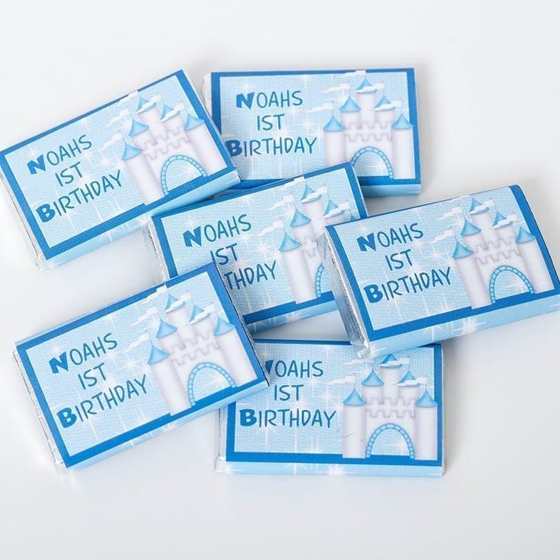 Personalised Birthday Milk Chocolate Bars - Personalised Chocolates