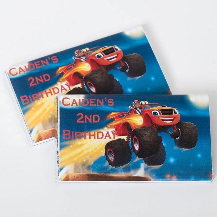 Character Birthday Bars - Personalised Chocolates