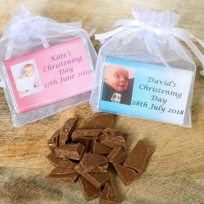 Small Chocolate Bar With Photo - Personalised Choclates