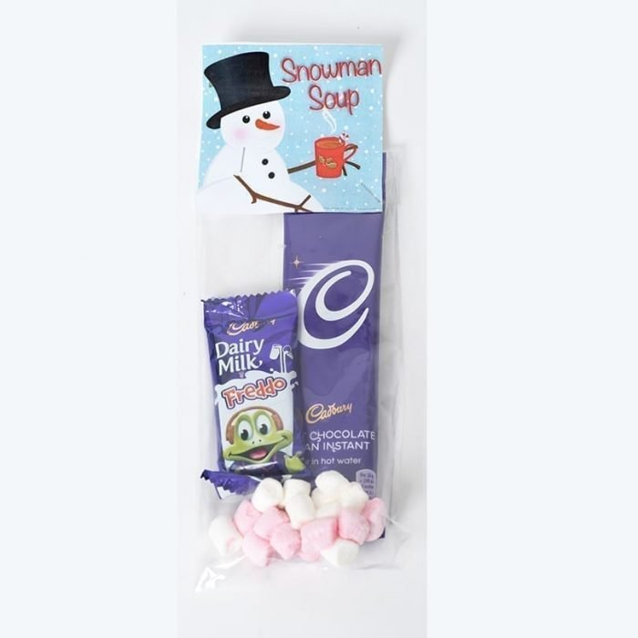 Snowman Soup - Personalised Chocolates