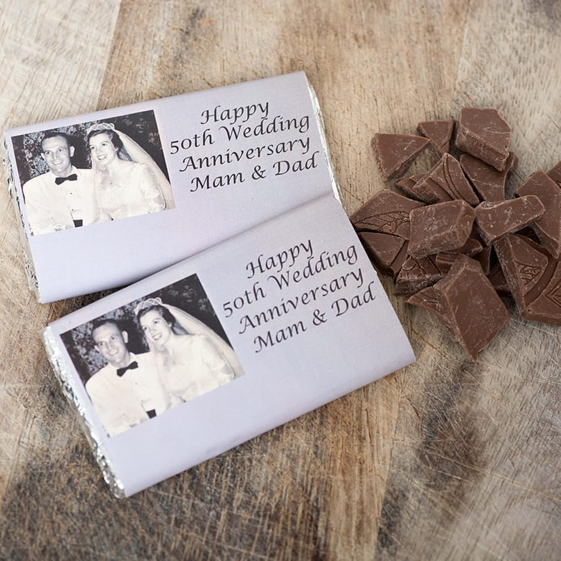 Vintage Birthday Bars - Personalised Chocolates