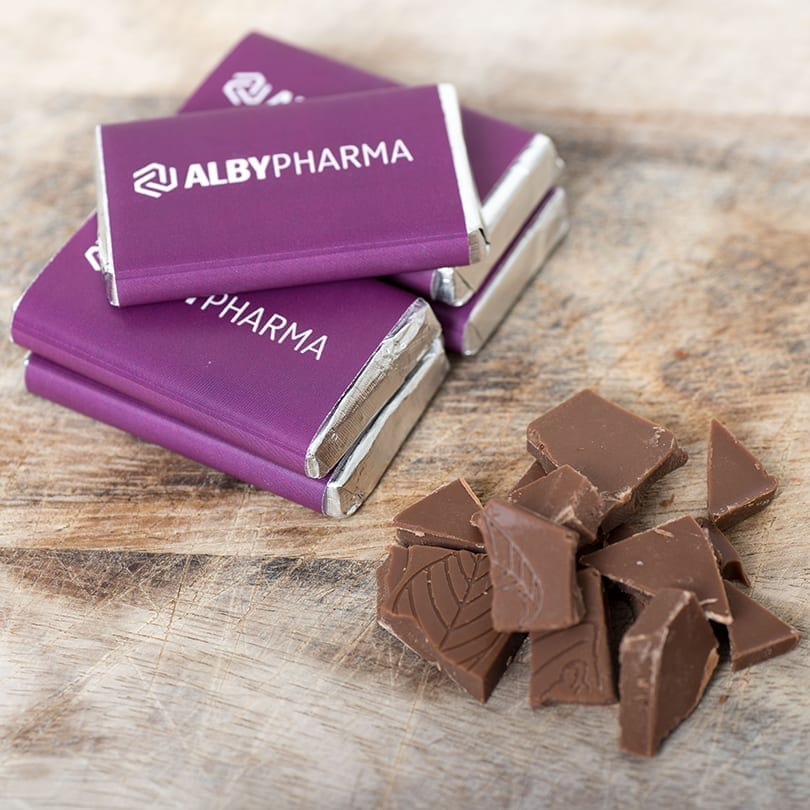 Small Branded Bars - Personalised Chocolates