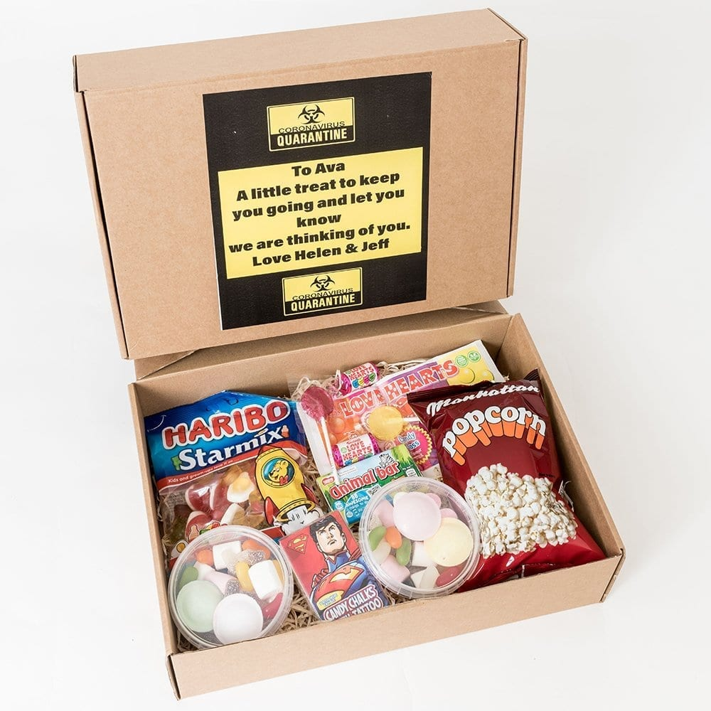 Quarantine Treat Box - Personalised Chocolates OPT