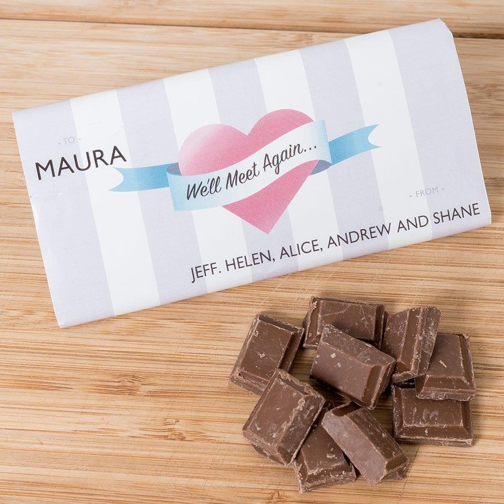 We'll Meet Again - Personalised Chocolates