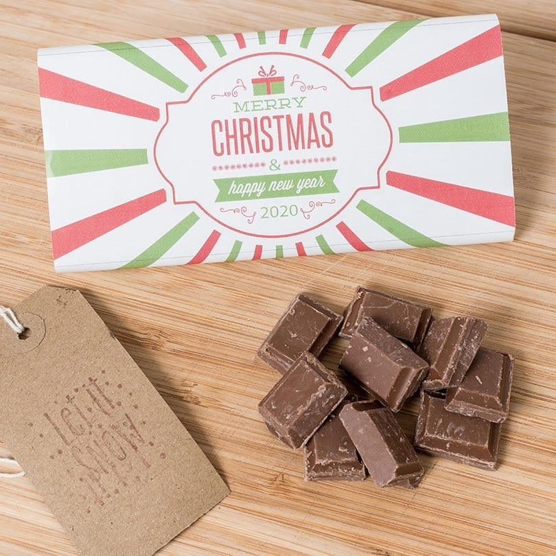 Christmas And New Year - Personalised Chocolates