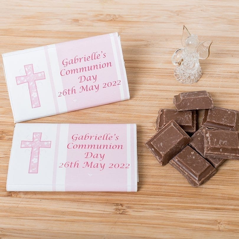 Communion Bar - Personalised Chocolates