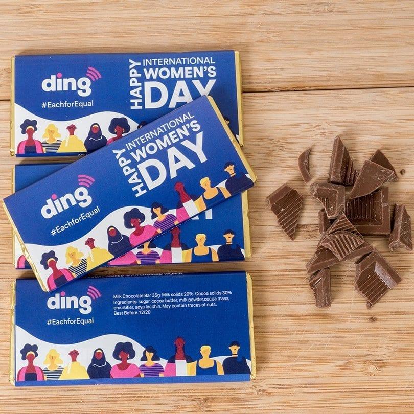 Medium Branded Chocolate Bars - Personalised Chocolates