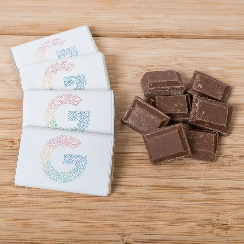 Small Branded Chocolate Bars - Personalised Chocolates