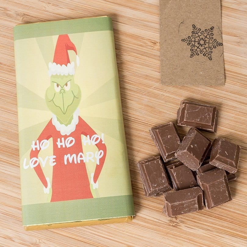 The Grinch - Personalised Chocolates